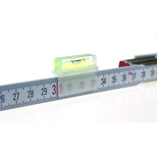 Libellino Ruler-Leveling Aid 53 31x12x26mm, Green-Yellow Liquid