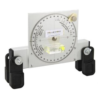 Clinometer 20 cm with clamping jaws