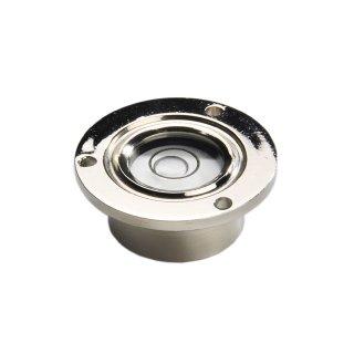 Flush Mounted Circular Levels in metal socket
