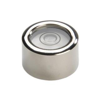 Dosenlibellen in Metallfassung zum Auflegen