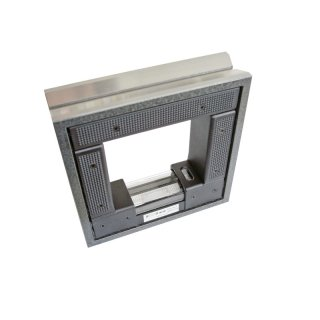 Rahmenwasserwaage 200x200mm, 0,02mm/m im Kunststoffkoffer