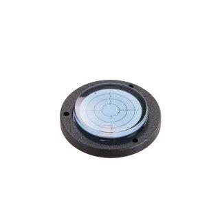 Circular Inclinometer Level Acrylic 2° Ø80mm H15mm