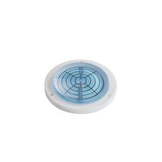 Circular Inclinometer Level Acrylic 20° Ø80mm H12mm