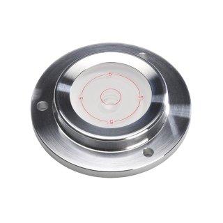 Circular Inclinometer Level Aluminium 5° Ø100mm H16mm