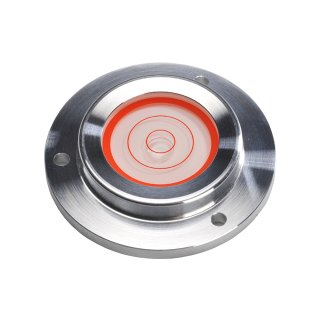 Circular Inclinometer Level Aluminium 7° Ø100mm H18mm