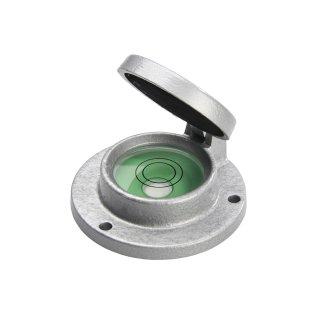 Klappdeckel-Dosenlibelle Aluguss 10 Ø76mm H28mm